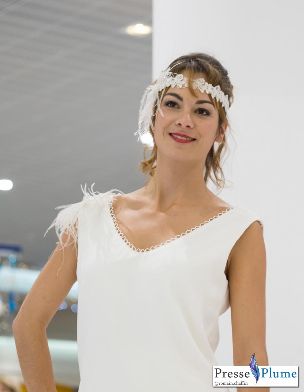 Anaïs MARIANT en robe de mariée