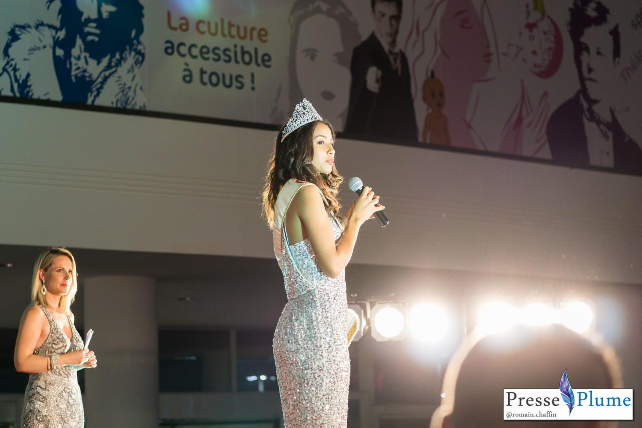Discours de Flora COQUEREL lors de l'élection Miss Nantes 2015